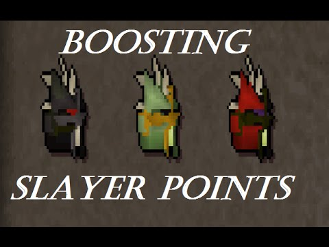 osrs guide to boosting slayer points youtube