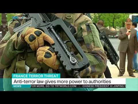 French anti-terror law raises concerns over civil liberties