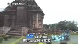 7 Wonders of India - Orissa : 11 -  Sun Temple, Konark