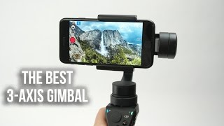 DJI Osmo Mobile The Best Smartphone 3 Axis Stabilizer