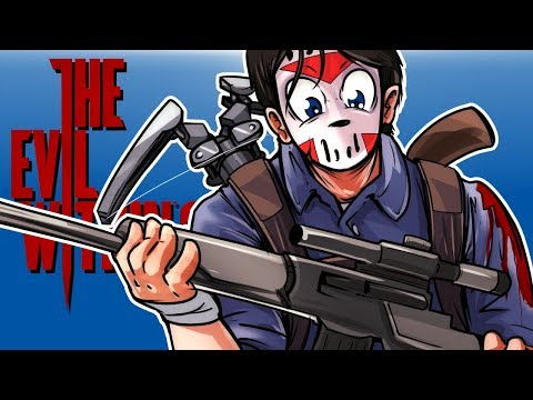 The Evil Within 2 - FINDING WEAPONS!!! (Sniper, Laser Sighted Handgun & Crossbow!) Episode 3!