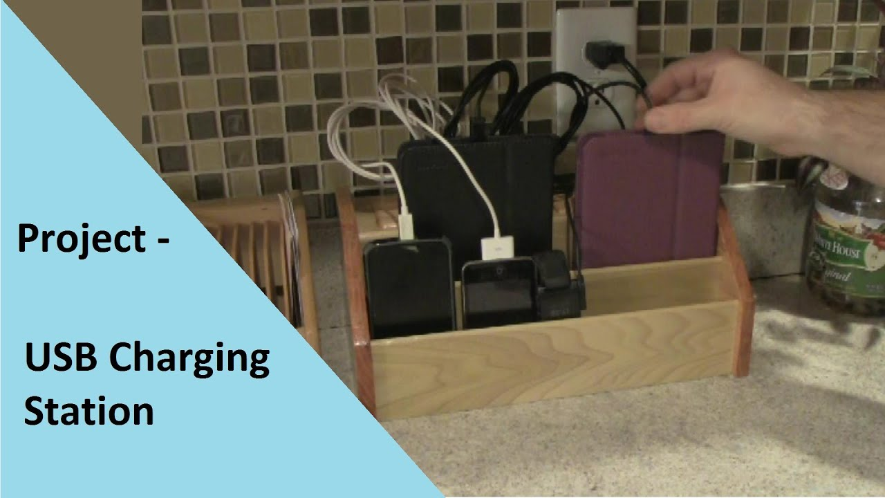Project Build Usb Charging Station Youtube