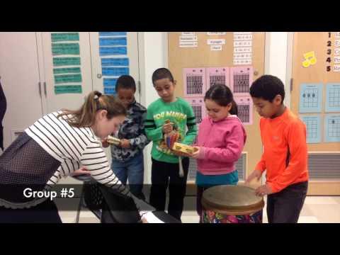 2nd Grade Percussion Compositions Feb 2015