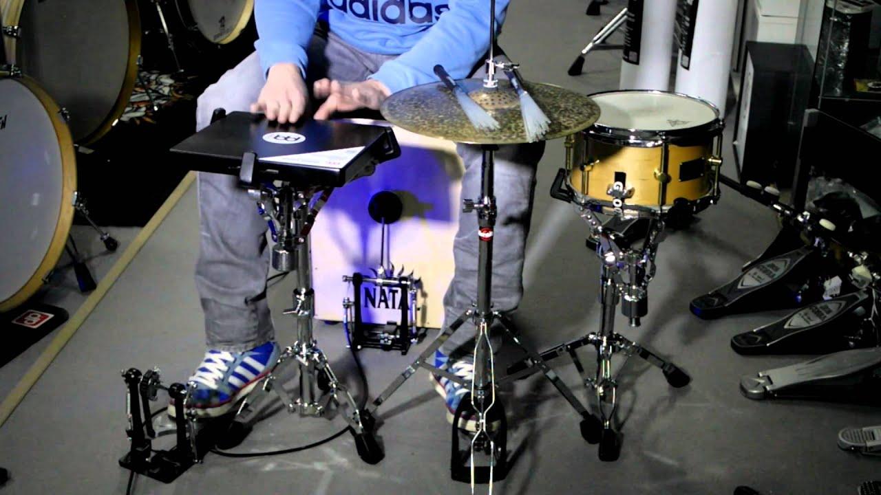 Set De Percuss 227 O Com Pedal De Cajon Gibraltar Groove It