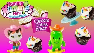 Yummy Nummies Cupcake Cuties Maker Easy No Bake Magical Cupcakes+Shopkins+Sheriff Callie