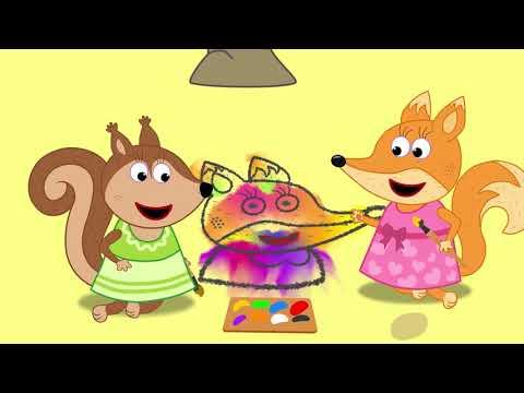 Fox Family en Espa帽ol Capitulos Completos nuevos | Familia de fox para ni帽os #53