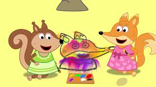Fox Family en Español Capitulos Completos nuevos | Familia de fox para niños #53