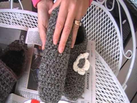 Crochet Slipper NON SKID surface Fix! Yippee!