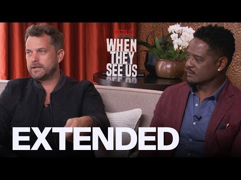 Joshua Jackson Calls Trump An A**hole, Blair Underwood Talks 'When They See Us' | EXTENDED