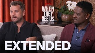 Gambar cover Joshua Jackson Calls Trump An A**hole, Blair Underwood Talks 'When They See Us' | EXTENDED