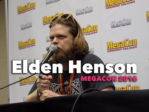 Elden Henson Panel at MegaCon 2016!