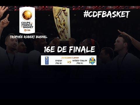 Live - Evreux - Hyères Toulon - 16e de finale de la Coupe de France