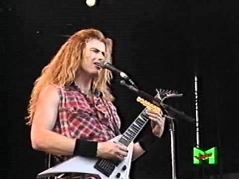 Megadeth  Symphony Of Destruction  In Italy 1992