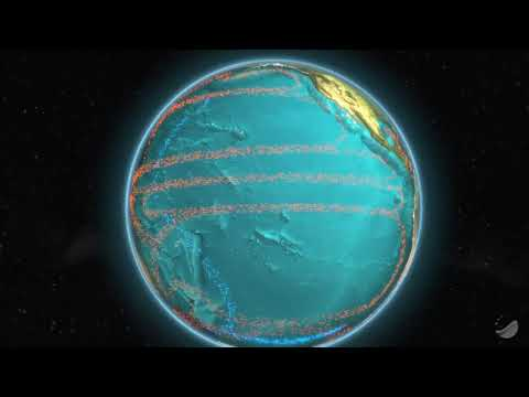 Global Ocean Currents Geociences Marines