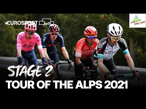 Tour of the Alps - Stage 2 Highlights | Cycling | Eurosport