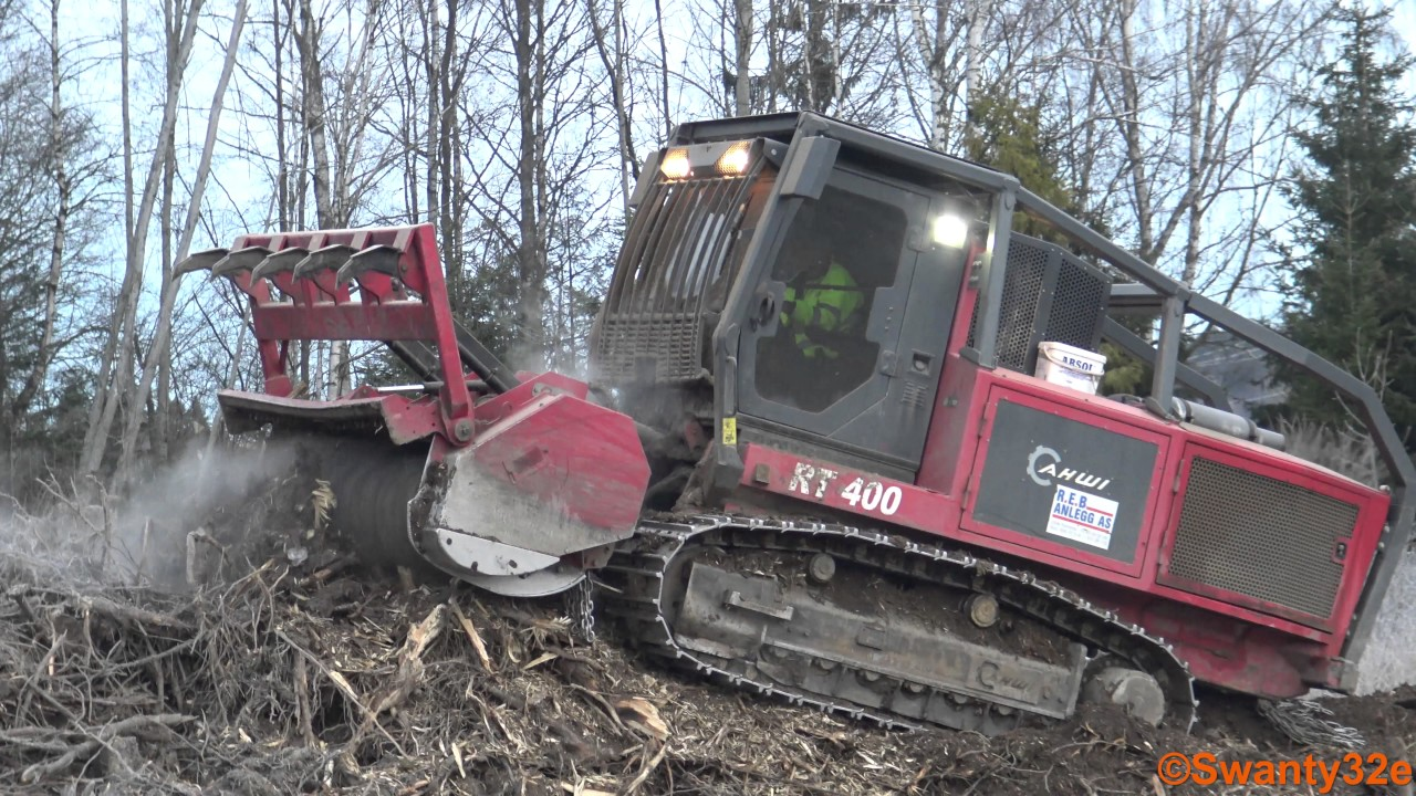 4K| Prinoth AHWI RT400 Forestry Mulcher by Swanty32e - Machine & Truck  Videos From Norway