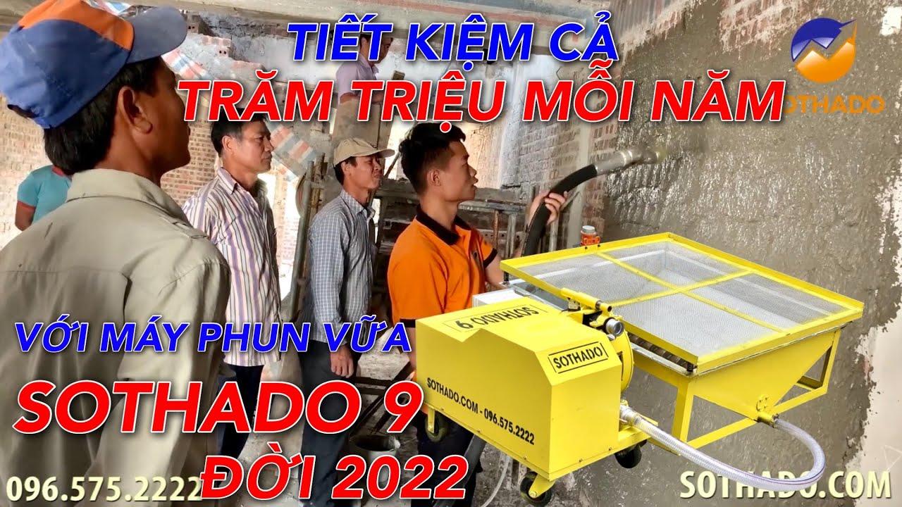 Đừng hỏi máy phun vữa giá bao nhiêu mà hãy hỏi những gì máy phun vữa trát tường làm được