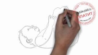 Как нарисовать ребенка(Как нарисовать картинку поэтапно простым карандашом за короткий промежуток времени. Видео рассказывает..., 2014-06-28T12:48:02.000Z)