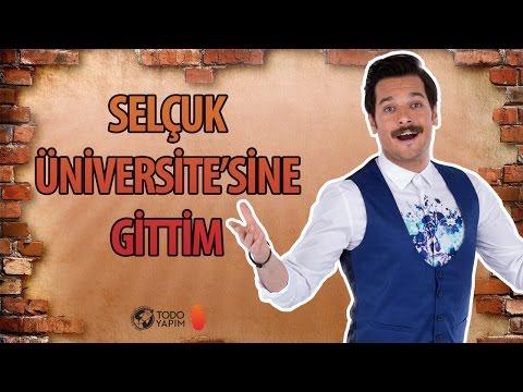 Selçuk Üniversitesi'ne Gittim