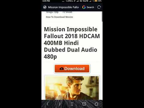 How To Download Mission Impossible  In Hindi 300 MB Full HD Latest#2018