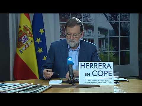Herrera en COPE entrevista a Mariano Rajoy