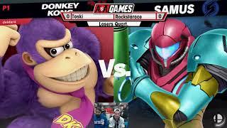 A&A 6 - Toski (Ness, Donkey Kong) Vs Rockstarace (Samus) Losers Quarters