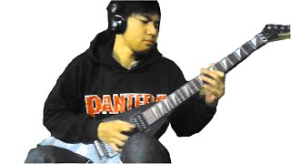 Jamrud - Hallo Penjahat ( Guitar Cover with solo )