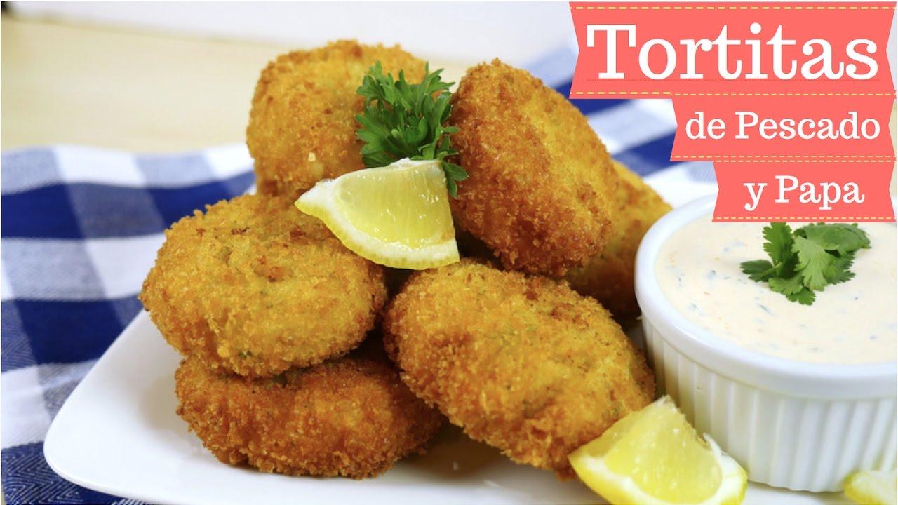 Tortitas de pescado y papa receta deliciosa y f cil mi - Cocina rapida y facil ...