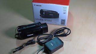 Canon HF R806 camcorder