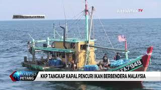 KKP Tangkap Kapal Pencuri Ikan Berbendera Malaysia