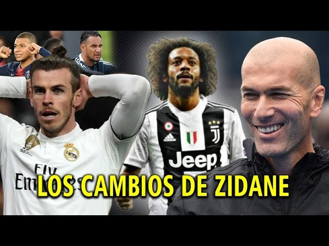 Los 3 Cambios que se harán en el Real Madrid con el Regreso de Zinedine Zidane