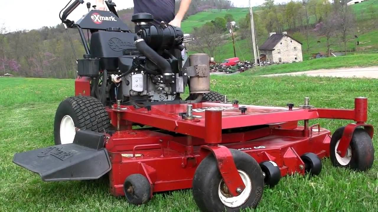 Exmark 60 Turf Tracer Commercial Zero Turn Lawn Mower Youtube