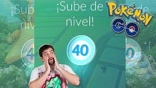 ¿¡Qué pasa si LLEGAS a NIVEL 40 en Pokémon GO!? [Keibron]