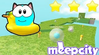 Roblox / Meep City - Playing the New Game for Meep Money! / Gamer Chad Plays