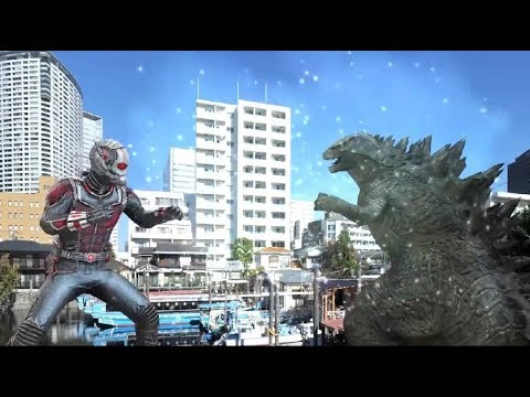 Avengers 5 Antman Vs Godzilla King Of Monsters