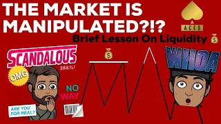 IS THE MARKET MANIPULATED?!?