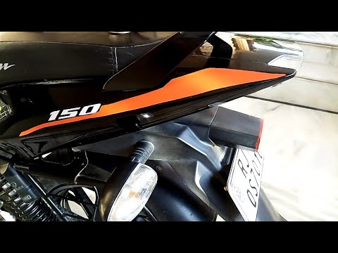 bajaj Pulsar 150cc  homemade modification