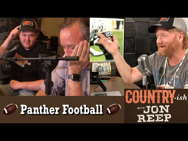 Talkin' a'bout Carolina Panther Football and the NFL - Country-ish with Jon Reep (from Ep 42)