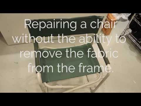 Chair repair on Claes Long Arm
