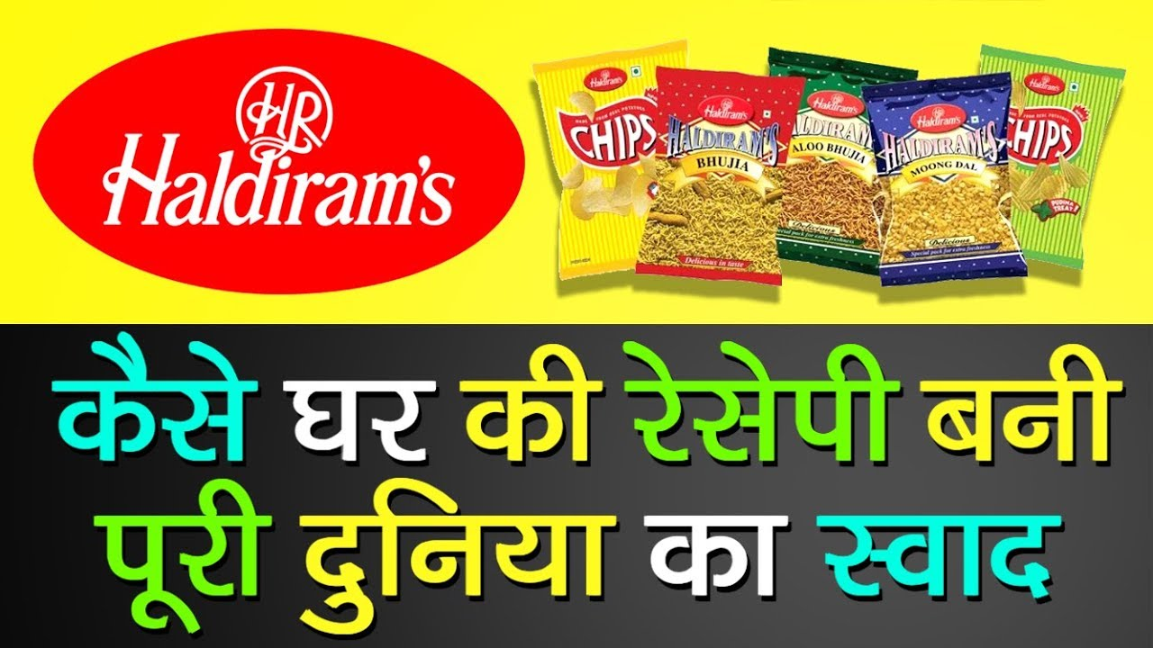 haldirams production process