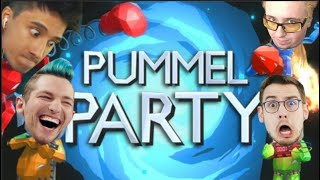 JUs Pummel Party mit SEP (Pietsmiet) REZO und DHALUCARD (ESKALIERUNG) | Julien Bam Twitch Highlight