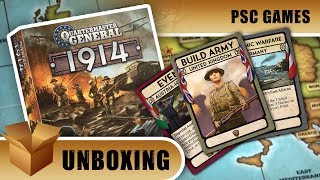 Unboxing: Quartermaster General 1914