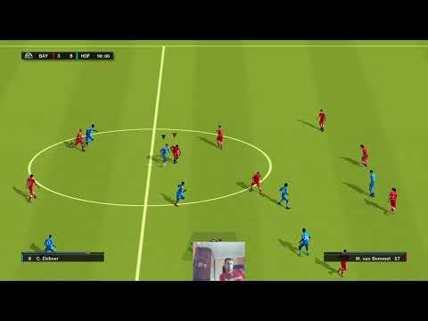 Стрим ретро-футбол FIFA10 1на1 / Stream Retro-football FIFA10 1vs1 29.06.190