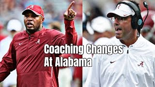 Josh Gattis and Dan Enos the latest to leave as Alabama assistant coaches