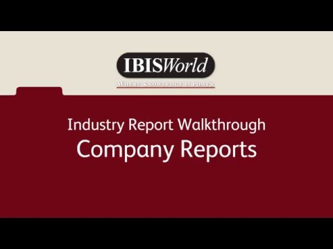 Company Reports - Industry Product AU