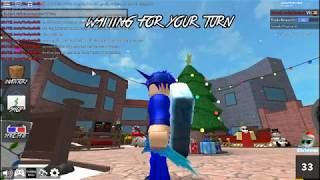 Roblox MM2 NEW GODLY XMAS 2017 PLUS GLITCH KNIFE !