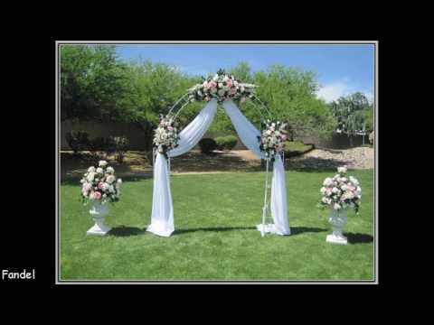 DIY Wedding Arches Ideas