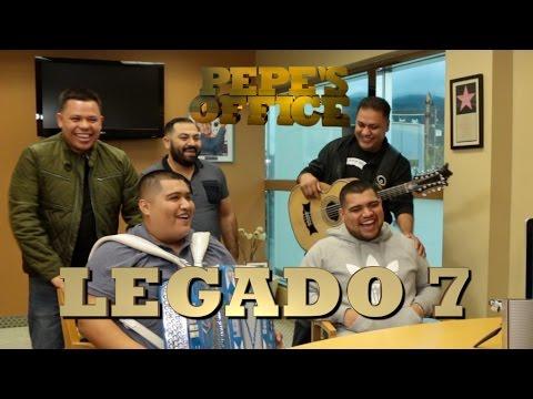 LEGADO 7 LLEGA A PEPE'S OFFICE!