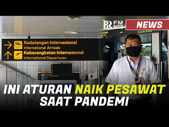 Ini Aturan Naik Pesawat Komersial Saat Pandemi