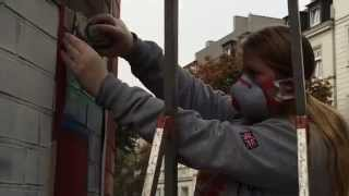 Graffiti auf Sankt Pauli - Haus Bethlehem